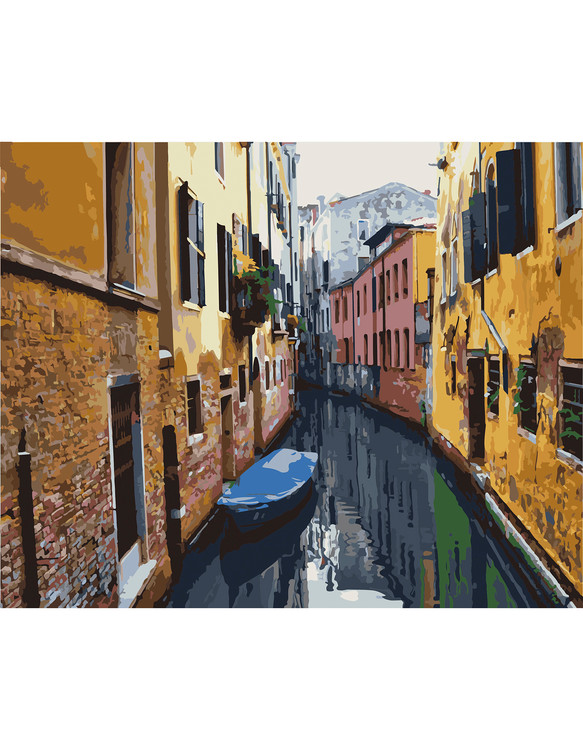 Paint by numbers Venedig